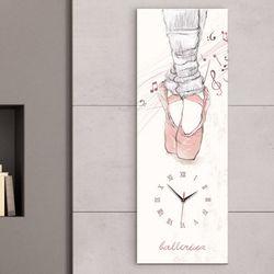 iy736-발레리나대형노프레임벽시계
