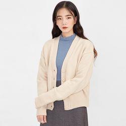 mary v-neck wool cardigan