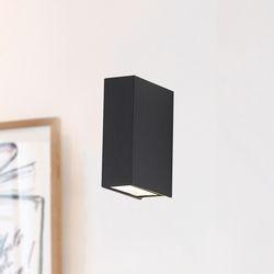 댄디보이2등벽등 (방수등) (그레이 블랙) + LED내장형