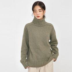 class wool polar knit
