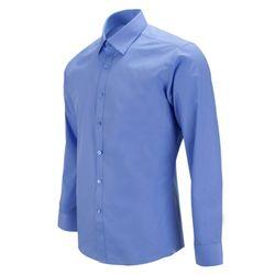 슬림 데일리 진블루 파란색 긴팔셔츠RF1006