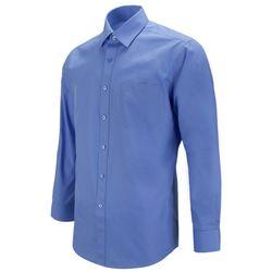 레귤러 데일리 진블루 파란색 긴팔셔츠RF1106