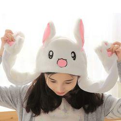 갓샵 귀 움직이는 토끼모자