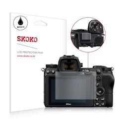 스코코 니콘 Z7 카메라 액정보호필름 2매 상단 1매