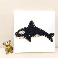 꼬마 범고래 스트링아트 만들기 패키지 DIY (EVA)