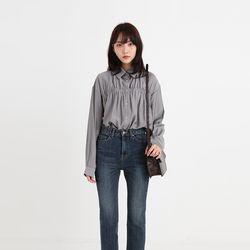 maison shirring blouse (2colors)