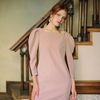 MATISSE DRESS BLUSH WINE