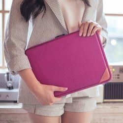 [스크래치]바렌체 레더 맥북 프로 레티나 15.4 파우치 - Violet