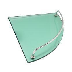 [무료배송] 강화유리 욕실 코너 선반 GL-150