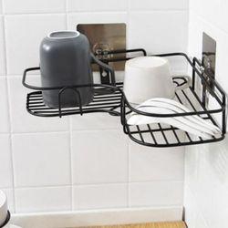 모디 펀치형 코너 욕실선반