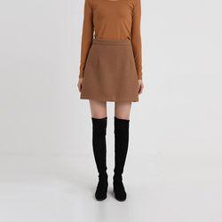 brooklyn wool skirt (2colors)