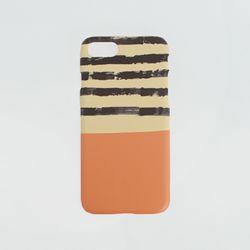 하드케이스 오렌지 스트라이프 (갤럭시s6)
