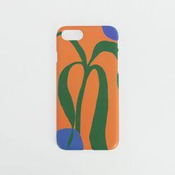 하드케이스 오렌지 아트웍 (아이폰6플러스)