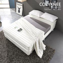 코지니 호텔식 포켓 볼 케미컬 라텍스 투매트 싱글 침대