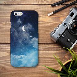 [아이폰6] MOON 블루 하드 케이스