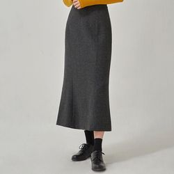 herringbone mermaid skirt (s m)