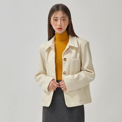 beginning wool jacket