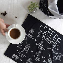 [Fabric] Blending Coffee 컷트지 린넨 (블랜딩 커피 컷트지)