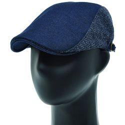 [더그레이]EMH41.니트배색 옥스포드 헌팅캡 남성 모자