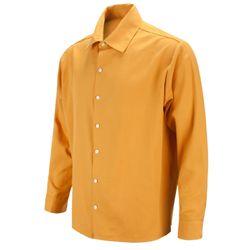 페이스 미키 오버핏 옐로우 캐주얼 셔츠DIS022