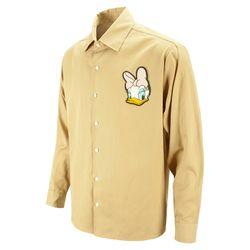 핑크 데이지 오버핏 베이지 캐주얼 셔츠DIS013