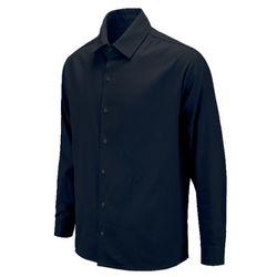 백넘버 미키 오버핏 네이비 캐주얼 셔츠DIS012