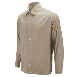 퍼니 미키 오버핏 베이지 캐주얼 셔츠DIS011