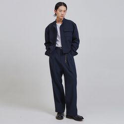 crows zero pintuck wide slacks (2 color) - UNISEX