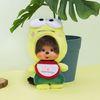 몬치치 Kero Kero Keroppi x Monchhichi Big Head SS Mascot