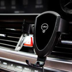 LWC-C01 차량용 고속 무선충전 스마트폰 핸드폰거치대