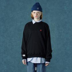 [앤커버] n-symbol sweatshirt-black
