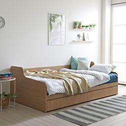 멀티 수납소파형 슈퍼싱글 침대매트세트 sy602
