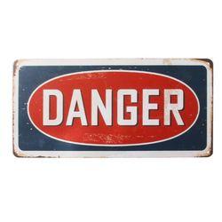 틴 포스터-Danger