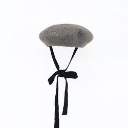 strap beret - gray