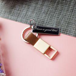 RIGEL 프리미엄 이니셜각인 자동차열쇠고리 키홀더