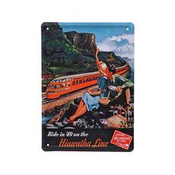 틴 포스터-Hiawatha Line