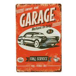 틴 포스터-Garage