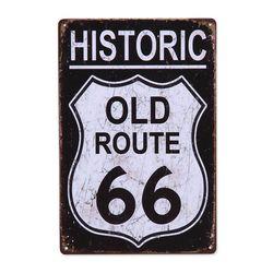 틴 포스터-Old Route 66