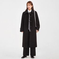 objet heavy long coat