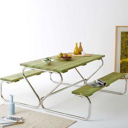 피크닉 야외용 테이블 벤치 세트