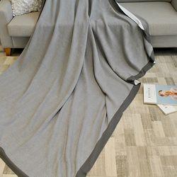 헤링 순면 니트 담요 (130x160cm)