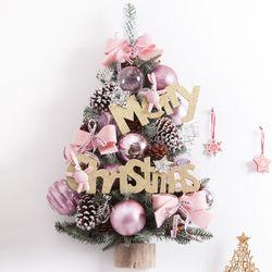 핑크토끼벽걸이트리 75cm P(크리스마스트리)