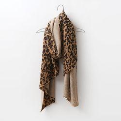 Leopard Pleats Scarf