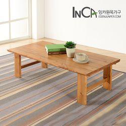 솔향 소나무원목 접이식 테이블 800
