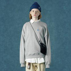 [앤커버] n-symbol sweatshirt-gray