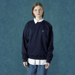 [앤커버] n-symbol sweatshirt-navy