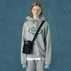 [앤커버] Color logo hoodie-gray