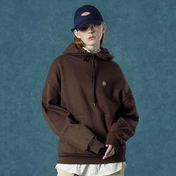 [앤커버] n-symbol hoodie-brown