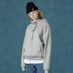 [앤커버] Rubber logo hoodie-gray