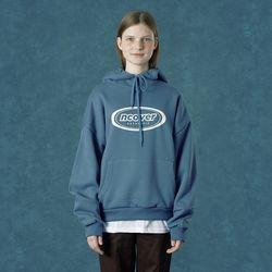[앤커버] Signature logo hoodie-dark blue